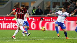 Milan rutinski do pobjede nad bezopasnom Sampdorijom
