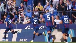 """Igrači Levantea srušili Barcu, pa tvrde: """"Analizirali smo Ter Stegena, znali smo šta trebamo"""""""