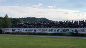 Tribine u Srebreniku ispunjene navijačima