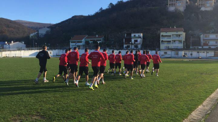Fudbaleri Čelika na pripremama u Crikvenici