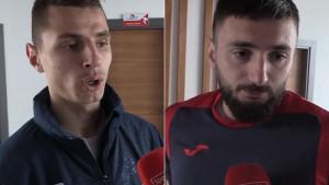 Atajić i Hadžić: Ide dobro, nema sumnje da ćemo ostati u ligi