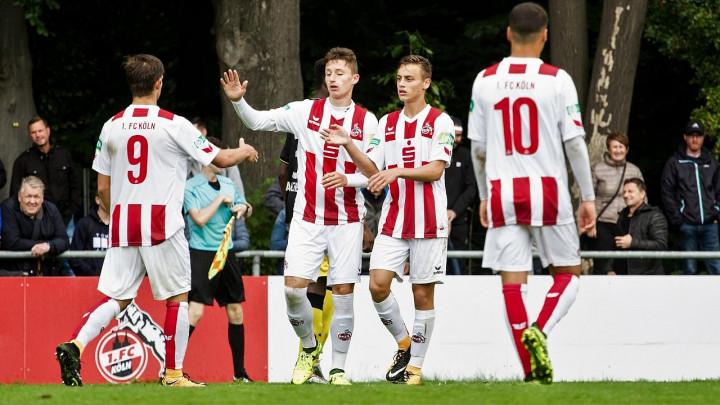 Juniorska Bundesliga: Elmin Herić u sudijskoj nadoknadi donio bod Kolnu