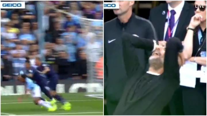 Nezadovoljni Guardiola nije mogao vjerovati da njegov tim nije dobio penal