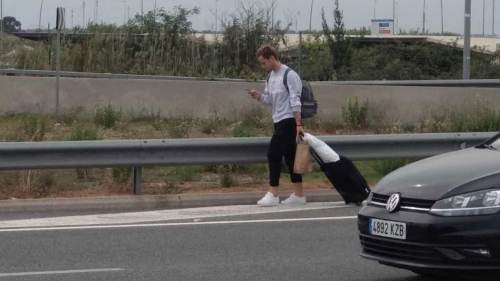 Rakitić zbog problema u Barceloni morao kući krenuti pješke