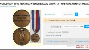 Hrvatski mediji otkrili ko prodaje bronzanu medalju sa Mundijala u Francuskoj: Pogoditi nećete nikad