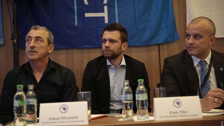 Baždarević i Misimović na sjednici Skupštine NS/FS BiH