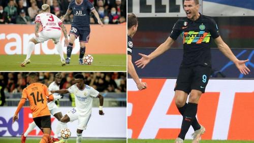 Sjajni Džeko vratio Inter u život, Messi spasio PSG, Real protutnjao Ukrajinom