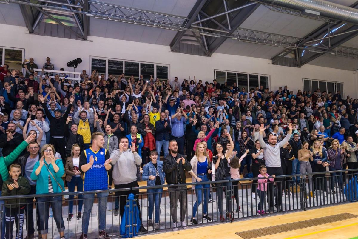 Ludnica u Promo Areni: Historijski uspjeh KK Promo dugo će se slaviti