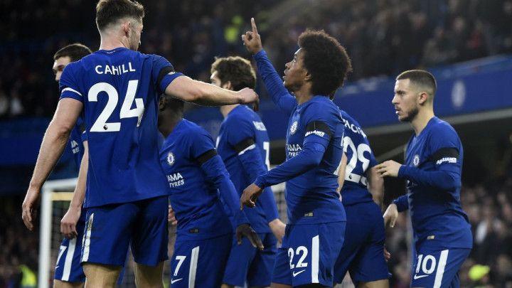Chelsea rutinski protiv Crystal Palacea