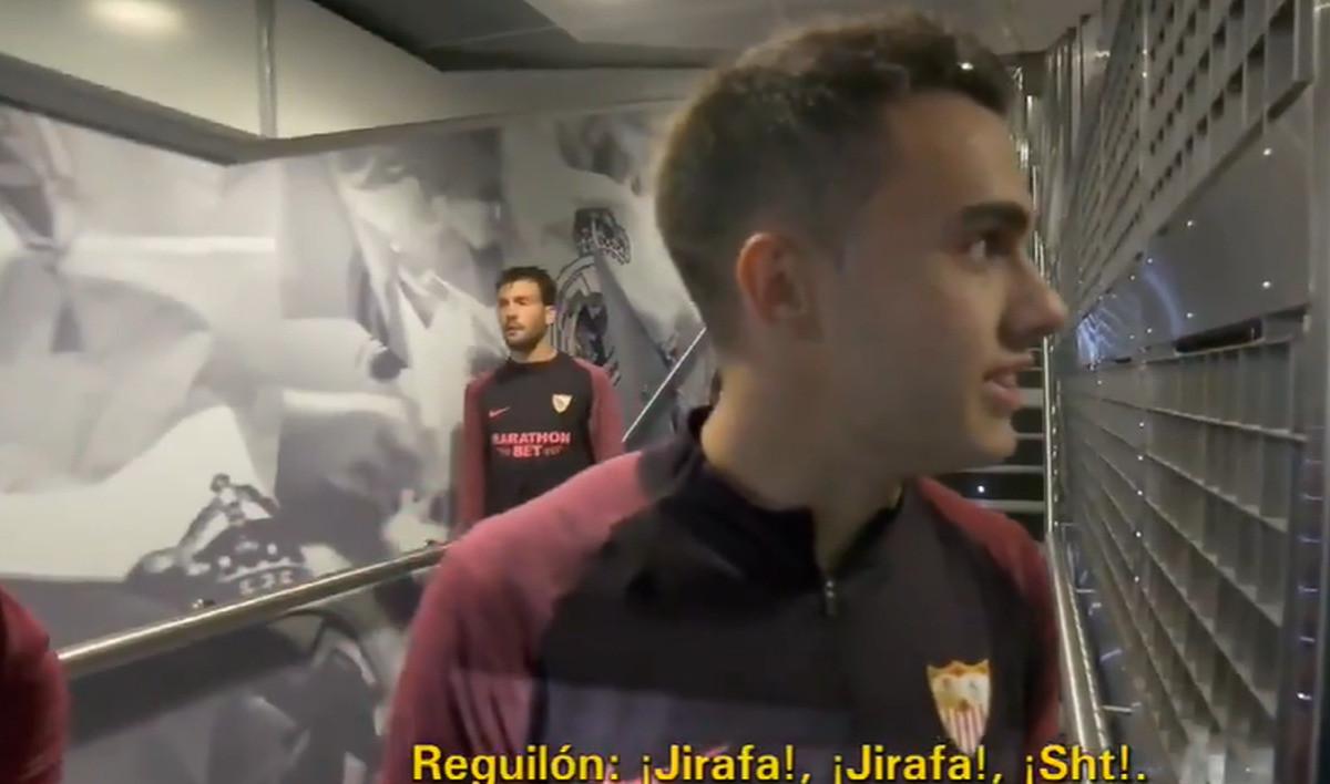 Igrač Seville Courtouisa u tunelu nazvao žirafom
