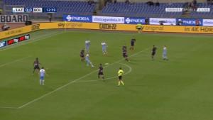 Correa majstorskim potezom izbacio igrača Bologne i doveo Lazio u vodstvo