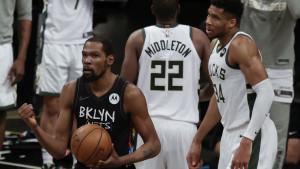 Netsi u fantastičnom meču pobijedili Buckse, Kevin Durant odigrao utakmicu sezone