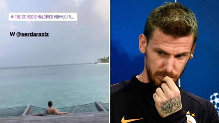 Slagao da je povrijeđen kako bi otišao na Maldive na odmor, a onda završio na transfer listi