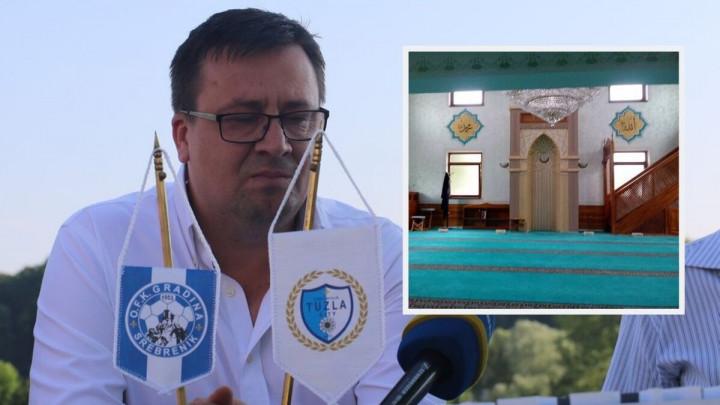 Zahvaljujući Azmiru Husiću opremljena tuzlanska džamija