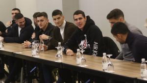 Vinko Marinović obavio prozivku igrača FK Sarajevo