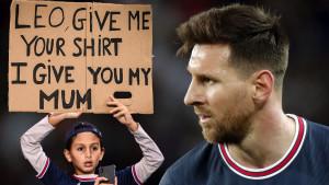 Messi dobio nemoralnu ponudu: Dječak mu je ponudio rođenu majku za dres