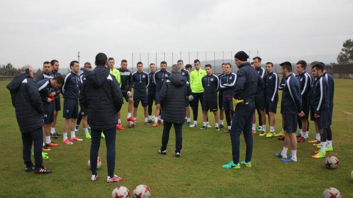 Plemići odradili trening, Stojkić zbog viroze ostao u Mostaru
