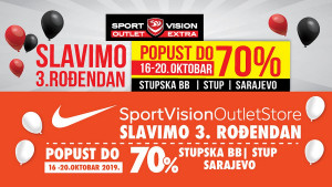 3. rođendan - Sport Vision Outleti na Stupu