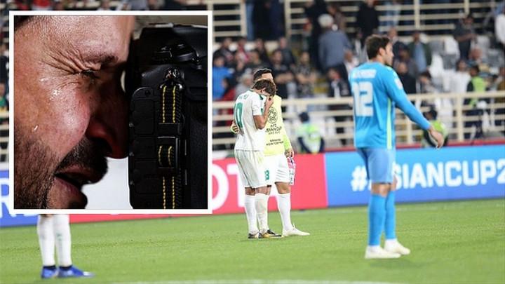 Ah, taj fudbal: Suze na licu fotografa za kraj