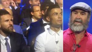 Bizaran govor Erica Cantone, Messi i Ronaldo ga samo zbunjeno posmatrali