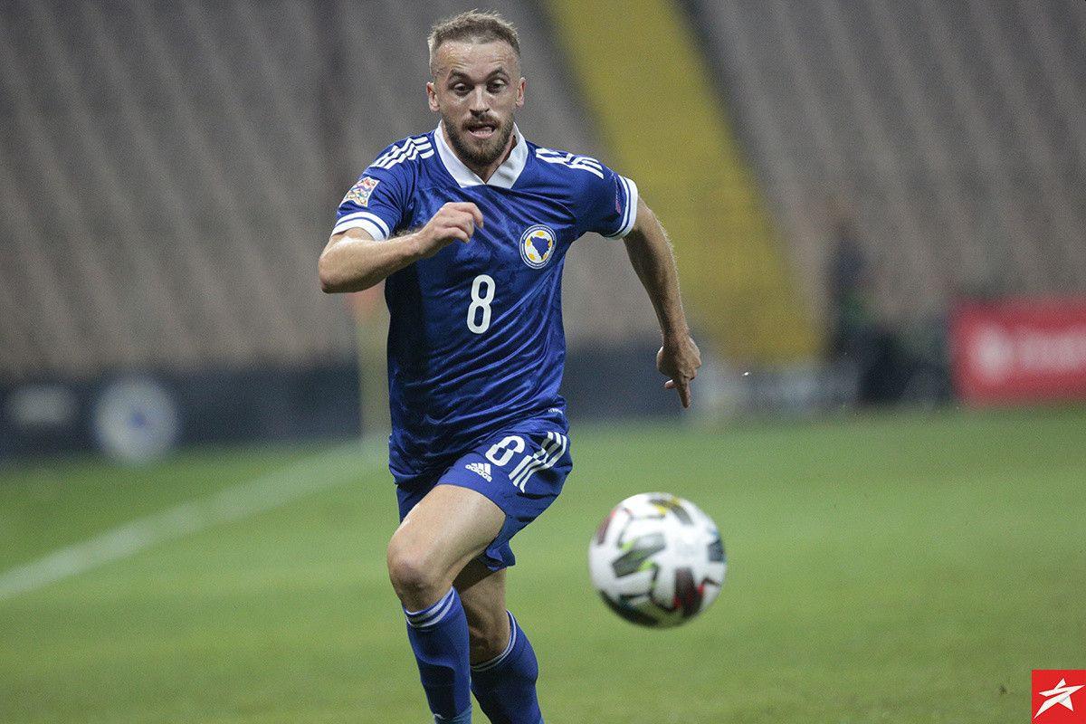 Edin Višća se oprostio od reprezentacije Bosne i Hercegovine