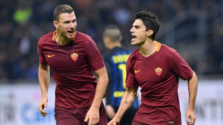 Džeko predvodi napad Rome protiv Atletica
