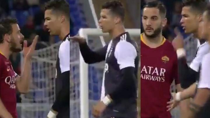 Ronaldo je ponizio igrača Rome, a poslije je dobio odgovor kakav i zaslužuje