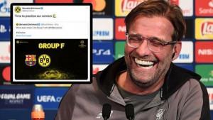 """Dortmund žestoko provocira Barcelonu na Twitteru: """"Moramo vježbati kornere"""""""
