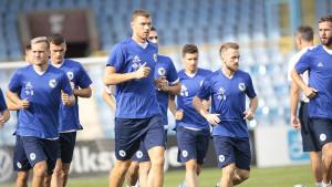 Zmajevi obavili posljednji trening pred važan susret u Jerevanu