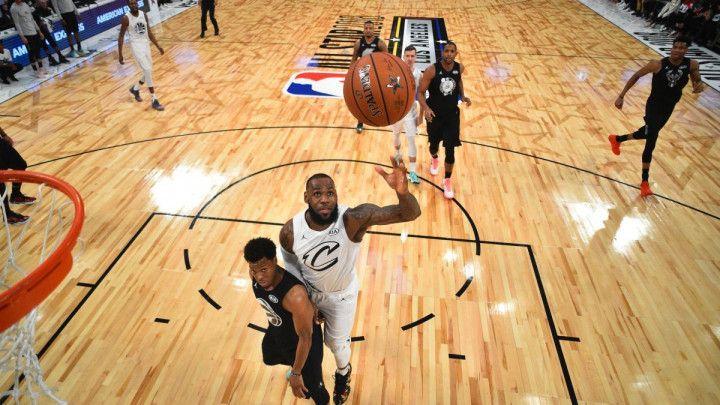 Ozbiljan All Star u Staples Centru, Tim LeBron bolji od Curryjevih zvijezda