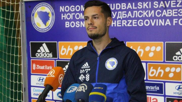 Hajradinović: Poziv u A reprezentaciju je ostvarenje sna