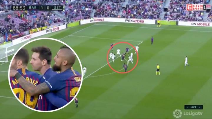 Messi je bijesan na sve: Izbacio petoricu igrača Getafea, pa nije htio ni proslaviti gol
