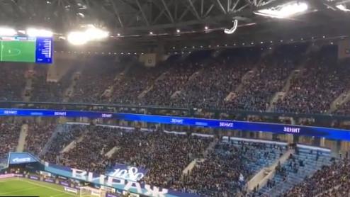 Zašto su u 41. minuti navijači Zenita napustili tribine?
