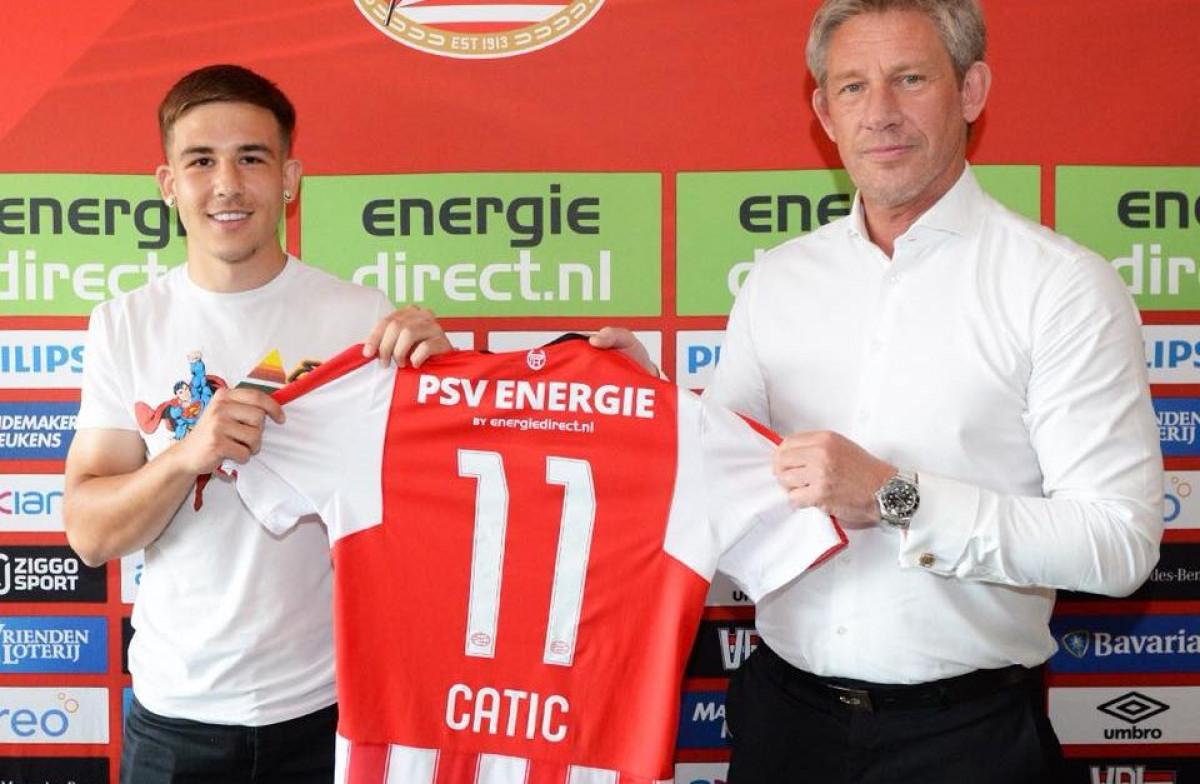 Ćatić napustio PSV, želi ga nekoliko klubova