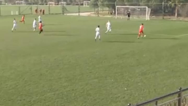 Haris Ovčina prekrasnim golom povećao prednost FK Velež