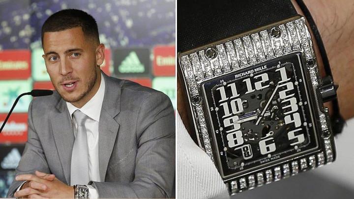 Hazard na potpis ugovora došao sa satom od 68.000 eura, ali se obrukao