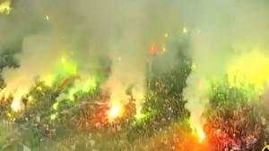Borba za drugu ligu: Sve gori na stadionu u Adapazariju