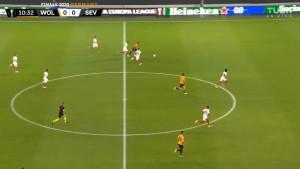 I ptica trkačica bi se posramila: Sedam igrača Seville pokušalo je stići Adamu Traorea, ali uzalud