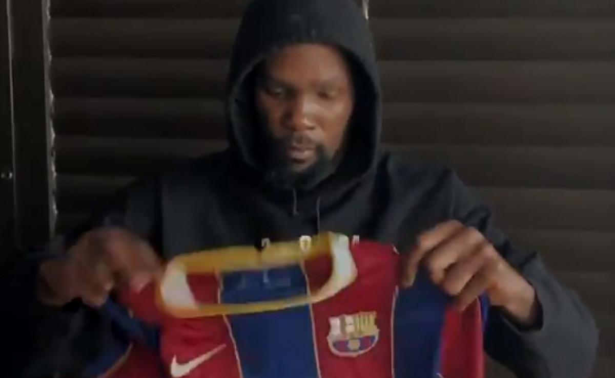 Kevin Durant predstavio novu 'sedmicu' Barcelone