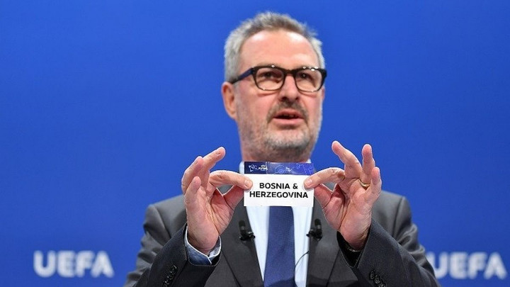 Poznati rivali BiH u kvalifikacijama za EP 2022