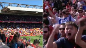 Navijači Wolverhamptona slavili lažni gol Brightona i totalno zbunili sve na Anfieldu