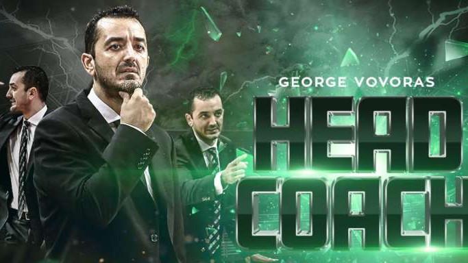 George Vovoras i službeno trener Panathinaikosa