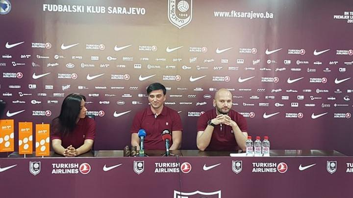 Hadžić predstavljen u FK Sarajevo: Bordo tim ima velike planove