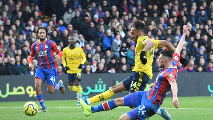 Remi Crystal Palacea i Arsenala, Aubameyang dobio direktan crveni karton