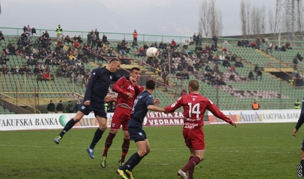 Sarajevu bodovi protiv Leotara