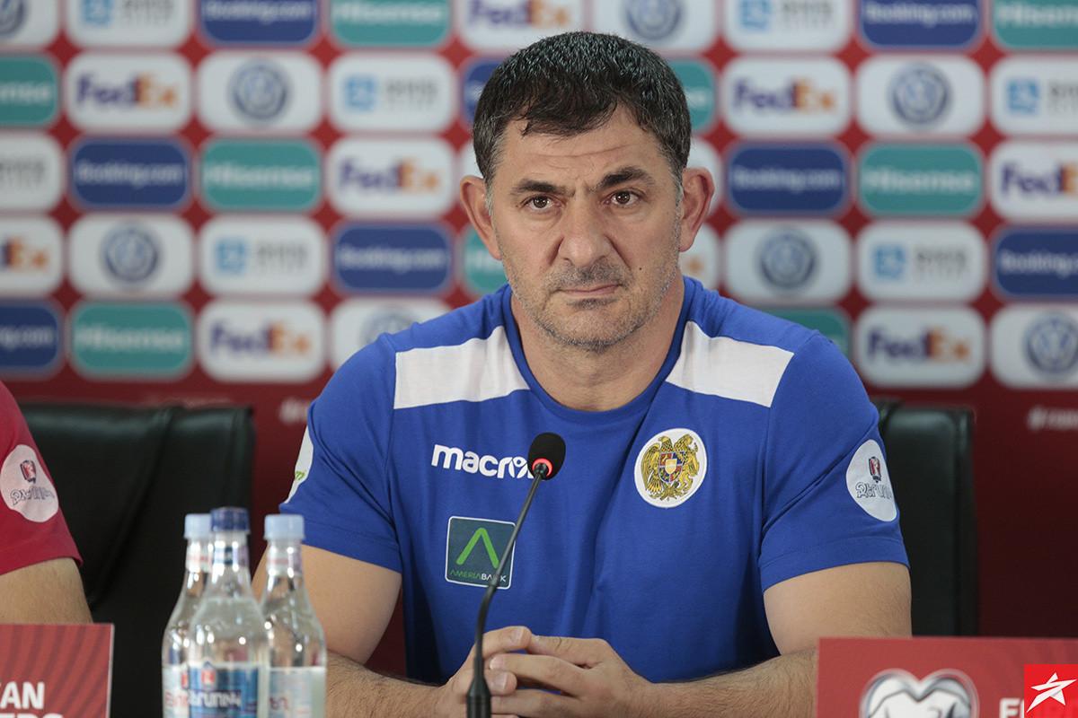 """Selektor Armenije ima recept za Zmajeve: """"Ako sve bude dobro osvojit ćemo bodove"""""""