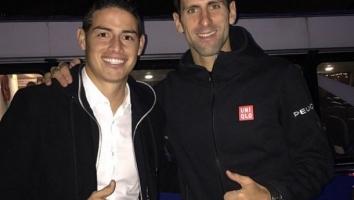 James Rodriguez sretan što je upoznao Đokovića