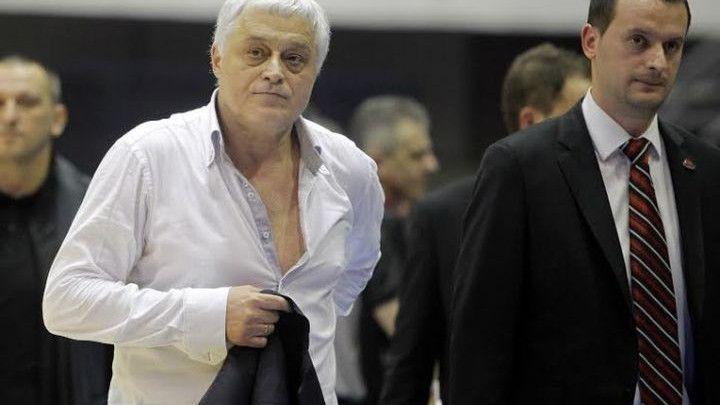 Muta Nikolić više nije trener Partizana