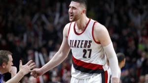 """Nurkić se """"iživljavao"""" nad košarkašima Utaha"""