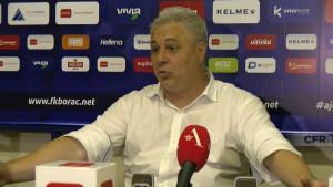 Trener Cluja se iznervirao: Trebalo je biti 6 ili 7:1 u prvom meču i 6 ili 7:0 do vašeg gola večeras